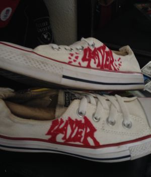 SLAYER CONVERSE ALL STARS....WOMENS sz 8 for Sale in San Francisco, CA