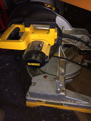 Dewalt stationary and tabletop sliding chop saws for Sale in Hayward, CA