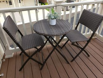 Wicker Bistro Set for Sale in Frederick, MD