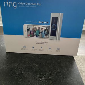 Ring Video Doorbell Pro, with HD Video, Motion Activated Alerts, Easy Installation (existing doorbell wiring required) for Sale in Des Plaines, IL
