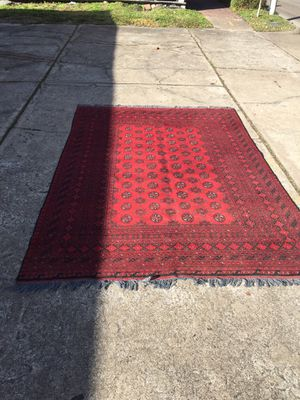 Hand knotted Persian rug for Sale in Houston, TX