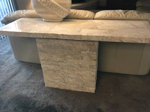 Marble Sofa Table for Sale in Phoenix, AZ