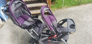Double stroller barely used for Sale in Renton, WA