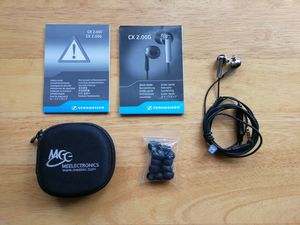 Sennheiser CX 2.00G In-Ear Headphones with Headset Microphone & 3-Button Remote for Android for Sale in City of Industry, CA