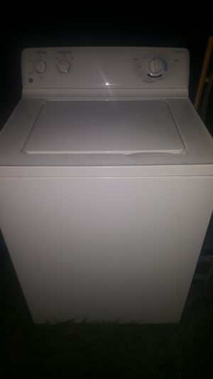 GE WASHING MACHINE AND ELECTRIC DRYER for Sale in Grove City, OH