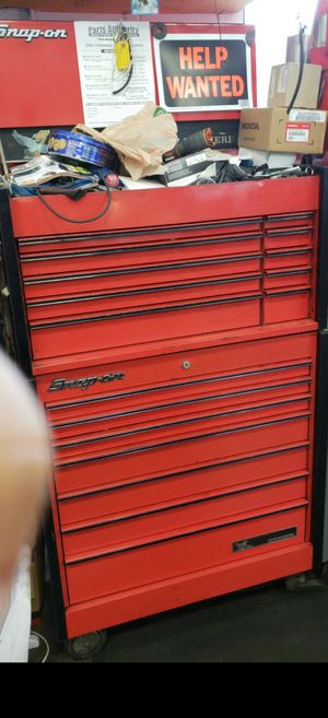 Snap on tool box for Sale in Alpharetta, GA