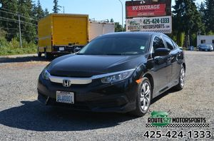 2016 Honda Civic Sedan for Sale in Bothell, WA