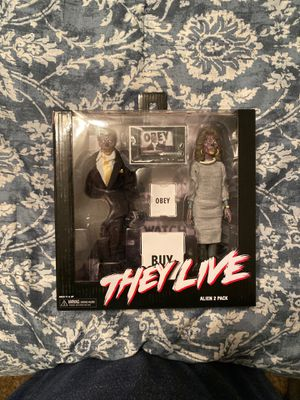 NECA They Live Action Figures for Sale in Tampa, FL