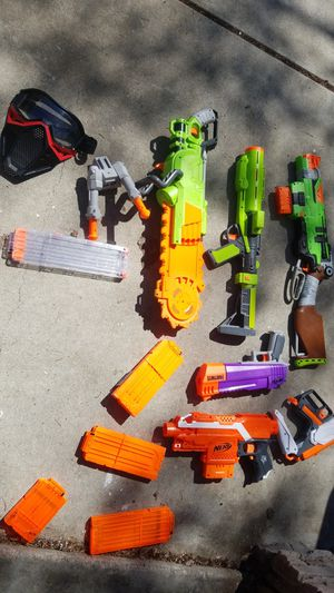 NERF GUNS USED for Sale in Antioch, CA