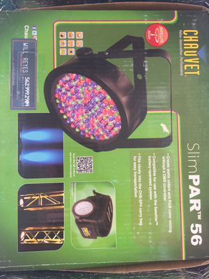 Chaucer slimpar can LED lights DJ for Sale in Long Beach, CA