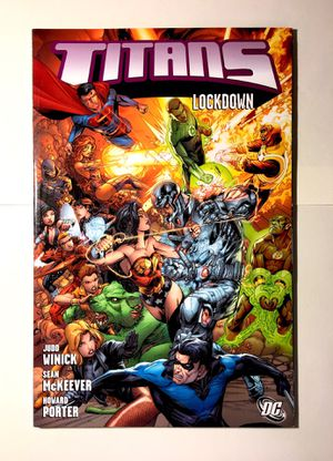 Titans Graphic Novel Comic Book Like New for Sale in Gaithersburg, MD