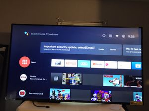 Android google smart tv for Sale in Saginaw, MI