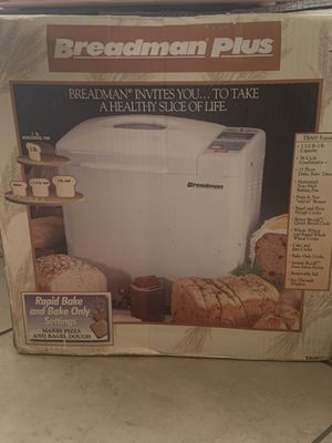 Bread maker ( Breadman Plus) for Sale in Fontana, CA