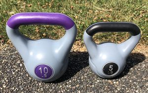 Kettlebells 5 and 10 lbs for Sale in Lynnwood, WA