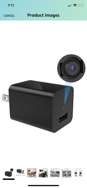 Surveillance camera disguised as smart charger for Sale in Fort Mill, SC