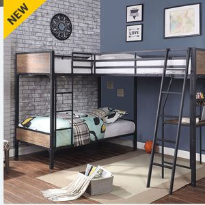 🦃🦃🦃CM. TRIPLE. TWIN BUNK BED MATTRES NOT INCLUIDED 🦃🦃 ORDER THIS THANKGIVING 📞1714586*2564 for Sale in Buena Park, CA