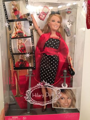 Hillary Duff 2006 Red Carpet Glam Barbie Doll- New With Box! for Sale in Atlanta, GA