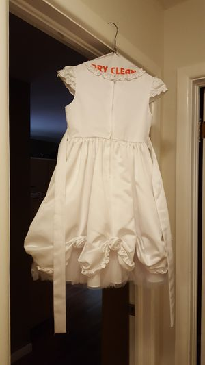 first comunion / baptism dress size 7 for Sale in Garland, TX