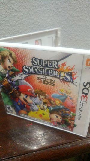 Nintendo 3DS Super Smash Bros for Sale in Beaverton, OR