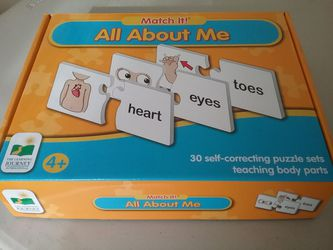 All About Me learning puzzle for Sale in Puyallup,  WA