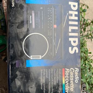 Philips Radio Cassette Recorder Brand New In The Box D7180 for Sale in San Diego, CA