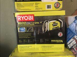 Ryobi 1600 psi pressure washer for Sale in Dallas, TX