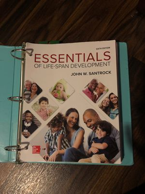 Essentials of Life Development by John W. Santrock sixth edition for Sale in March Air Reserve Base, CA