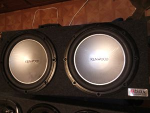 Kenwood speakers works good for Sale in Fort Worth, TX