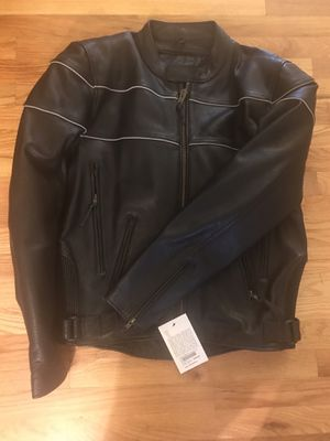 Eagle Leather riding jacket tall for Sale in Arvada, CO
