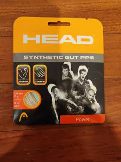 Tennis Racket Strings, Head Synthetic Fibers for Sale in Great Falls,  VA
