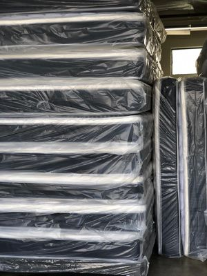 BRAND NEW MATTRESS || Twin Full Queen King & Cal King size Medium Plush Orthopedic Euro Pillow top Innerspring Matress for Sale in Poway, CA