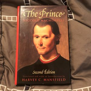 The Prince By Niccolo Machiavelli for Sale in McDonough, GA