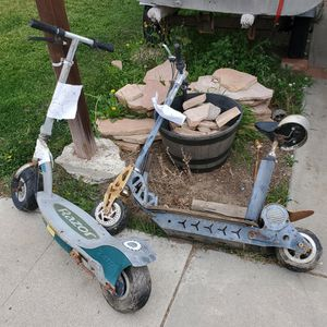 Free - Two Electric Scooters Need Repair for Sale in San Diego, CA