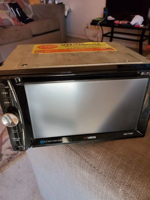 6.2 in Wide Screen &Touchscreen display. It has Bluetooth, Auxiliary, a USB port, AND YOU CAN EVEN PUT A MEMORY CARD FROM YOUR PHONE IN IT for Sale in Winona, MS