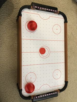 Table air hockey game set for Sale in Rockville, MD