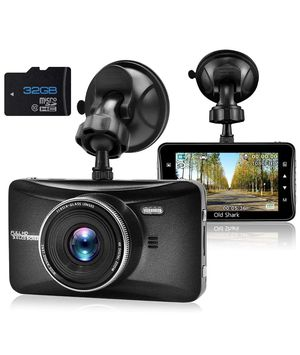 Dash Cam 1080P Full HD 3 Inch Dashboard Camera Car Recorder with 32GB Card 170°Wide Angle Dashcam Driving Loop Recording G-Sensor for Sale in Jersey City, NJ