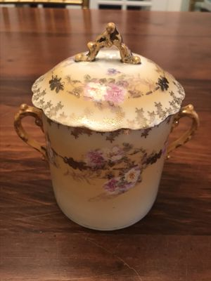 Antique Austrian Porcelain Condensed Milk Can Holder for Sale in Pittsburgh, PA
