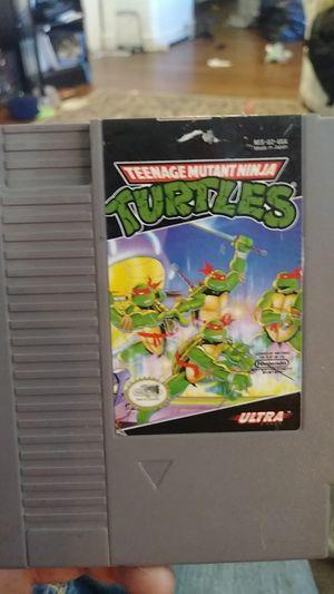 Teenage mutant ninga turtles for nes for Sale in Spokane, WA