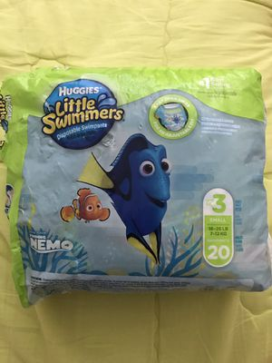 Huggies Little Swimmers Size 3 for Sale in Duluth, GA