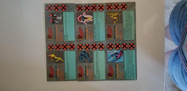 X-Men Under Seige Board Game