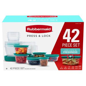 Rubbermaid 42 pcs. Press & Lock food storage set for Sale in Davie, FL