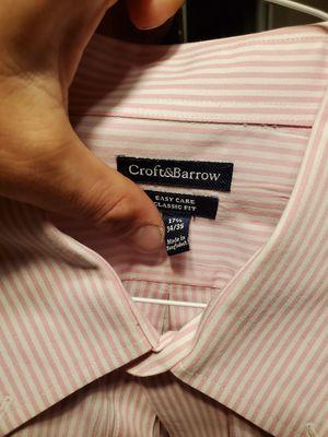 Croft and Barrow dress shirt for Sale in LRAFB, AR