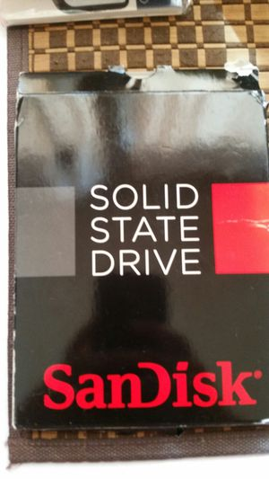 SanDisk solid state drive 2. 5 - 256GB for Sale in South Gate, CA
