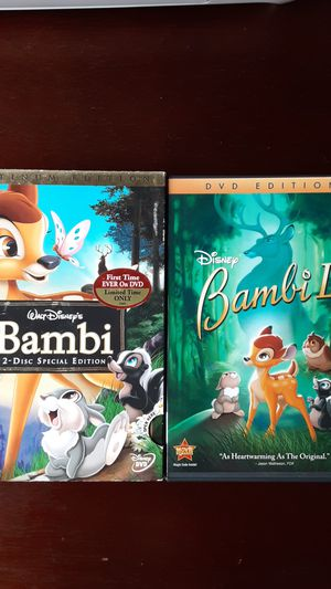 Disney Bambi bundle for Sale in Aurora, CO