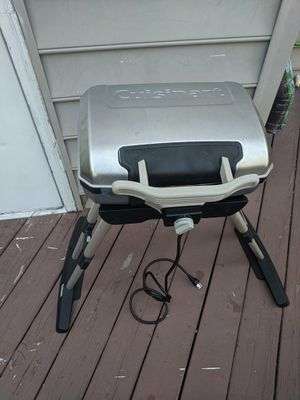 Cuisinart electric griller for Sale in Virginia Beach, VA