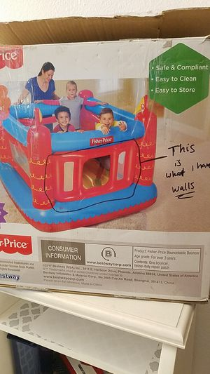 Fisher-price Bouncer( Walls only) for Sale in Stockton, CA
