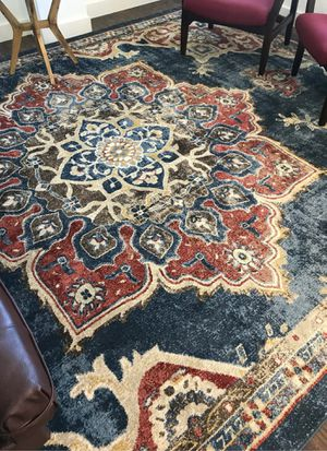 Dublin navy blue oriental area rug for Sale in Monterey, CA