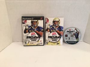 Playstation 2 ps2 NCAA Football 2005 Game for Sale in San Bernardino, CA