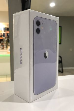 Finance New Unlocked iPhone 11 Purple - Only $30 down today! for Sale in North Providence, RI