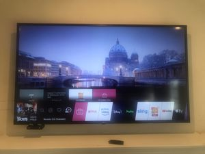 """LG TV 50"""" inch 2 YEAR WARRANTY FROM COSTCO for Sale in Tumwater, WA"""